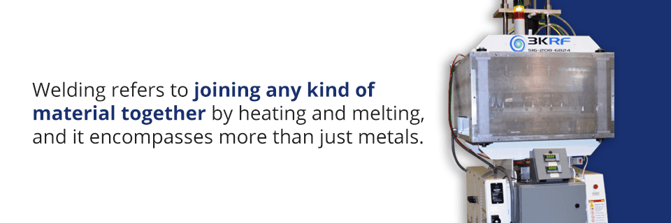 what does welding mean